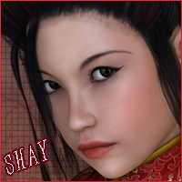 VH Shay for Victoria 4.2 3D Figure Assets Godin