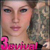 Victoria 3evival - Character and Clothing for V3  3D Figure Essentials 3D Models outoftouch