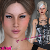 Victoria 3evival - Character and Clothing for V3 image 1