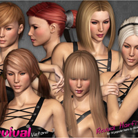 Victoria 3evival - Character and Clothing for V3 image 3