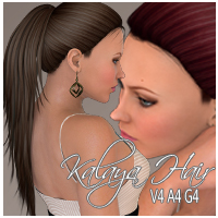 Kalaya Hair V4 A4 G4 by nikisatez