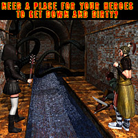 HC8 - Old European Sewers Themed Props/Scenes/Architecture Software mapps