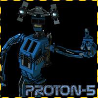 Proton-5 Multibot Stand Alone Figures Props/Scenes/Architecture Software Themed 3-d-c