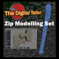 The Digital Tailor Zip Modelling Set Tutorials : Learn 3D Fugazi1968