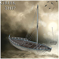 Greek Ship Transportation Themed Props/Scenes/Architecture RPublishing