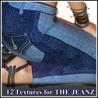 LOVELY: 12 Sets for THE JEANZ plus Injection-Morphs 2D Graphics LUNA3D