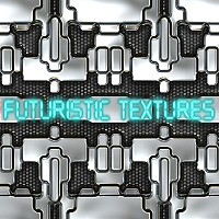 Futuristic Textures Themed 2D And/Or Merchant Resources designfera