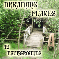 Dreaming places backgrounds by mininessie  mininessie