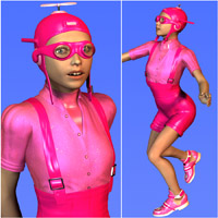 Dynamo Kid for The PreTeen 3D Figure Essentials Oskarsson