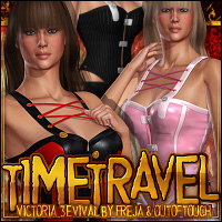 Time Travel for Victoria 3evival Clothing  ShanasSoulmate