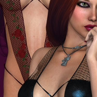 Risque for Surprise 3D Models 3D Figure Essentials kaleya