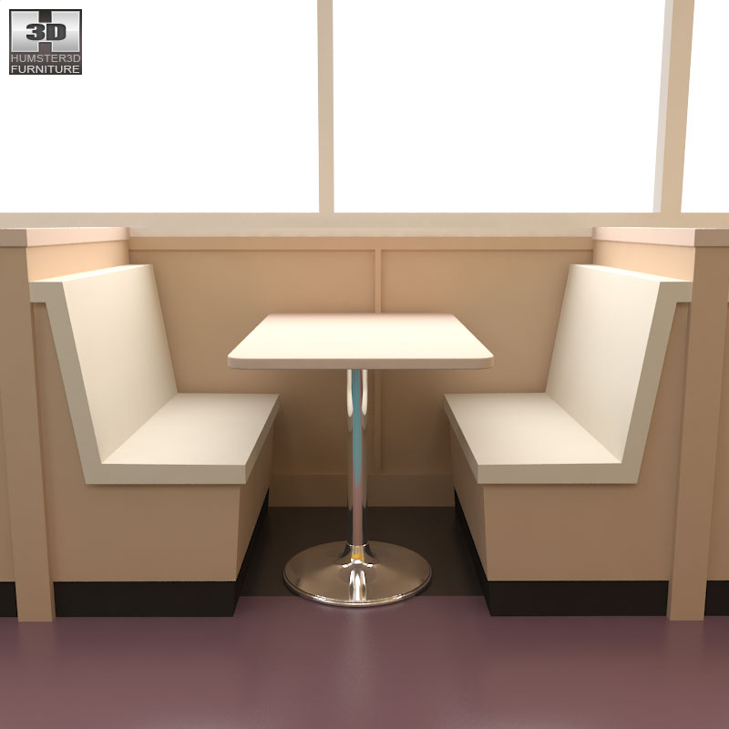 Dining Room 04 Set A Fast Food Restaurant Furniture