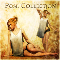 Pose Collection 3D Figure Assets vikike176