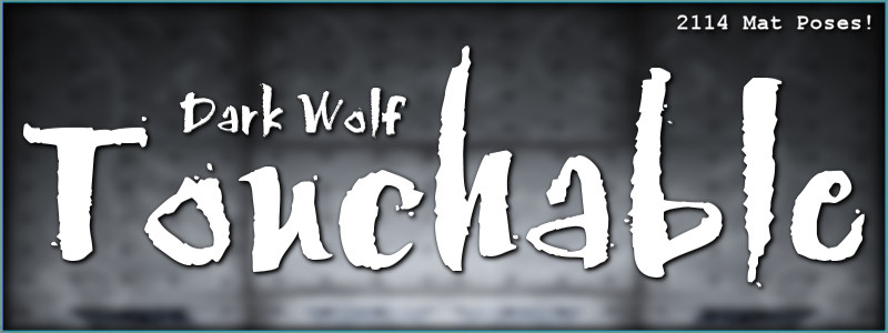 Touchable Dark Wolf