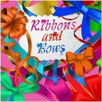 Ribbons And Bows 2D And/Or Merchant Resources Atenais