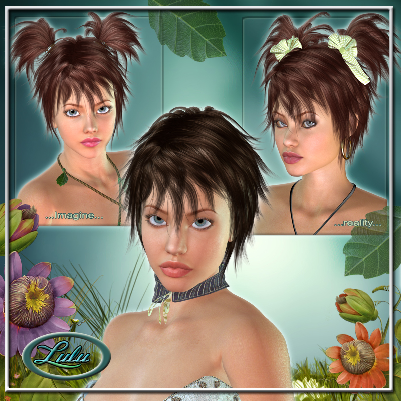 Lulu Hair for V4