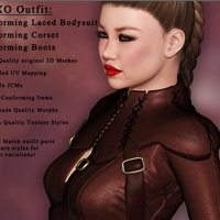 XOXO Outfit for V4 image 1