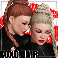 XOXO Hair Themed Hair outoftouch