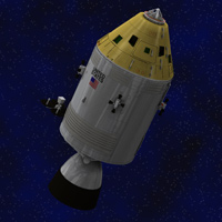 Apollo Spacecraft (for Poser)  Digimation_ModelBank