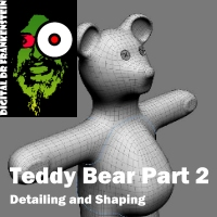 Digital Dr Frankensteins Bear Part 2 Shaping and Detailing Tutorials Fugazi1968