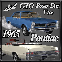 65 GTO Classic 3D Models RPublishing