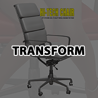 Hi-Tech chair and V4 Sitting poses image 1