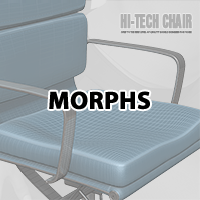 Hi-Tech chair and V4 Sitting poses image 2