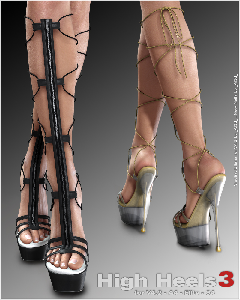 HighHeels 3 for V4.2 A4 Elite S4