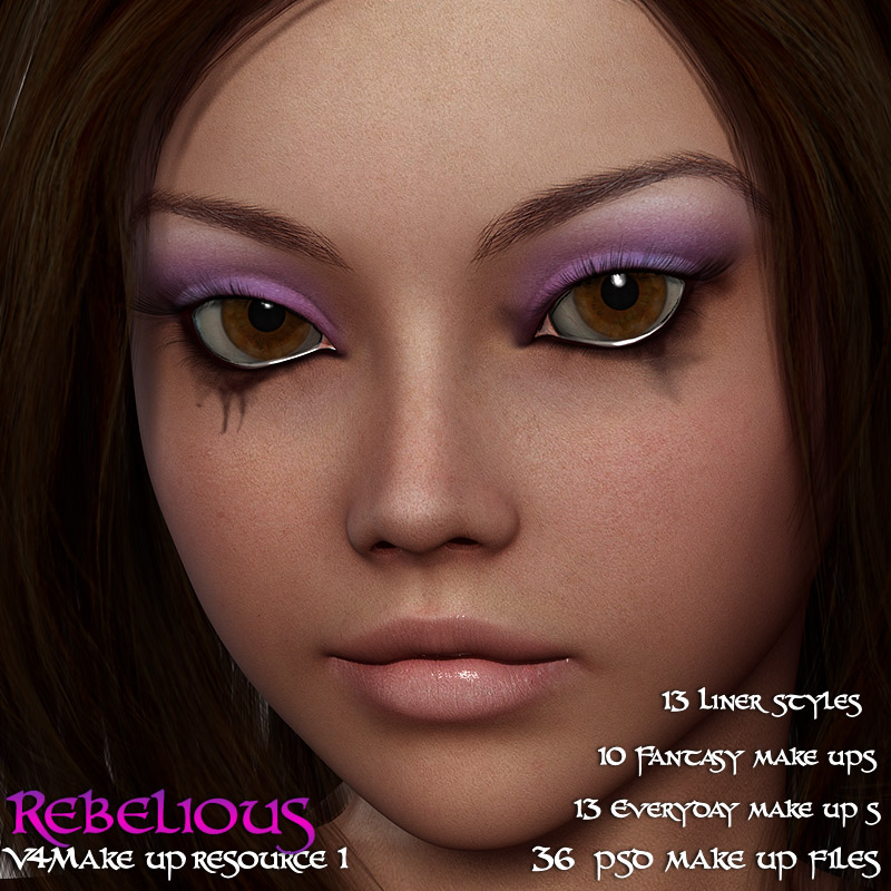 Rebelious V4 Makeup Resource 1