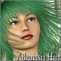 Athanasia Hair 3D Figure Essentials Mairy