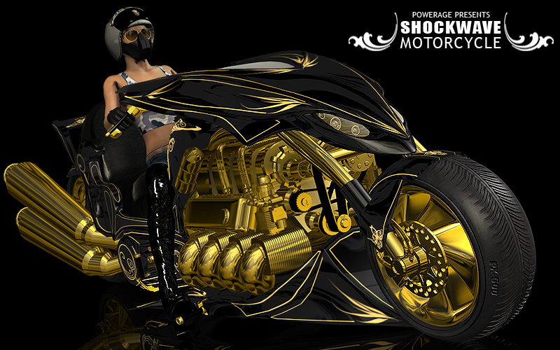 SHOCKWAVE- motorcycle