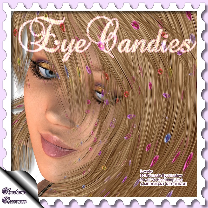 Lovely: EyeCandies- Merchent Ressource 50 Eyeshadows Premade