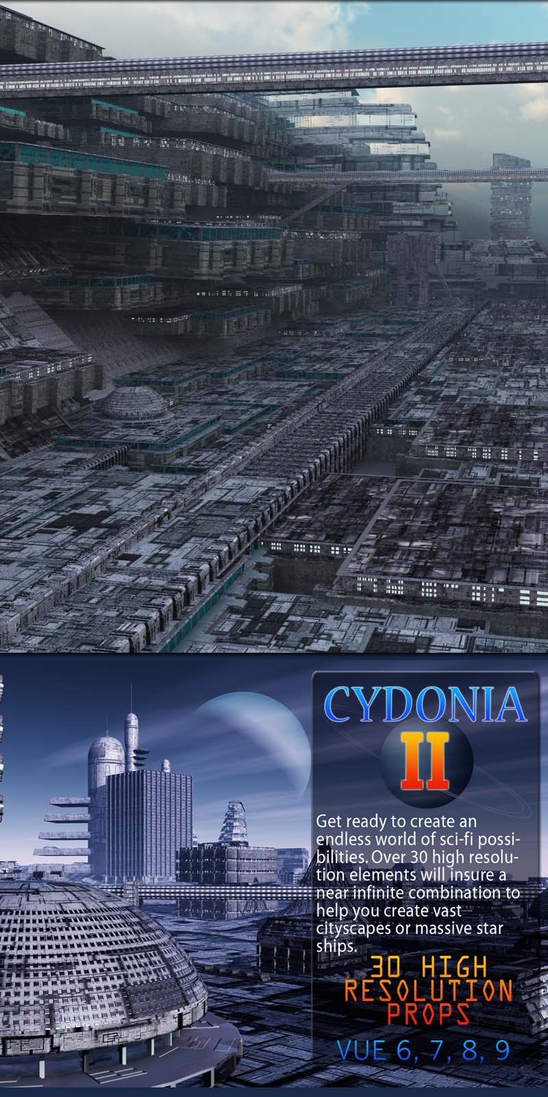 Cydonia 2 (Sci-fi Construction Set)