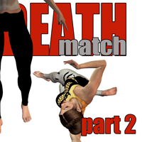 Deathmatch - part 2 3D Figure Essentials Gaming 3D Models PainMD