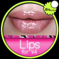 Biscuits Lips for V4 image 1