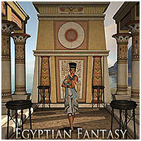 Egyptian Fantasy Software Props/Scenes/Architecture Themed RPublishing