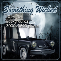 Something Wicked 2D Graphics 3D Models AdamantGrafix