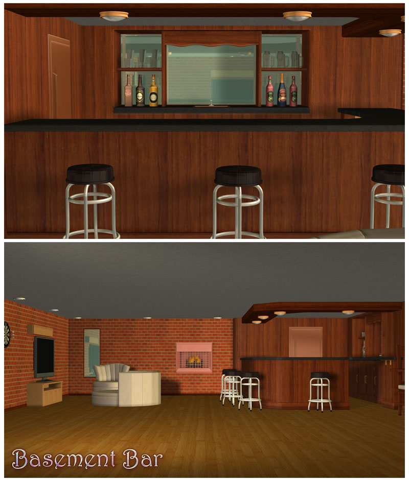 Basement Bar Set