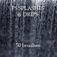 FS Splashes & Drips Themed 2D And/Or Merchant Resources FrozenStar