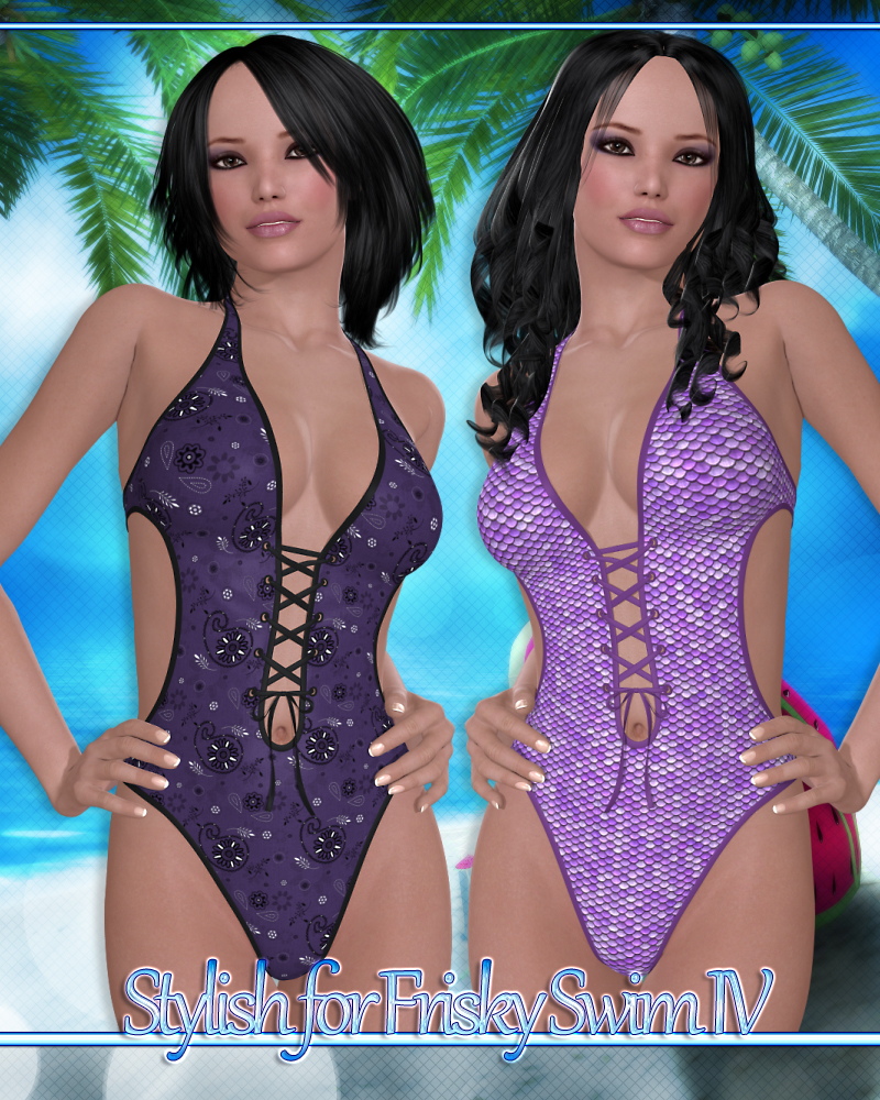 Stylish for Frisky Swim IV