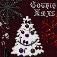 Gothic Xmas 2D Graphics 3D Models sorayashams
