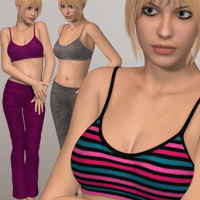 Fall Heat 3D Figure Assets 3D-Age