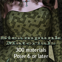 FSWNW Steampunk Materials 3D Figure Essentials 2D 3D Models FrozenStar