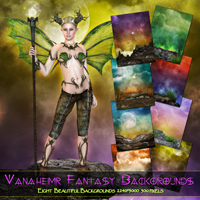 Vanaheimr - Fantasy Backdrops Themed 2D And/Or Merchant Resources Freja