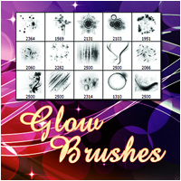 Glow Brushes 2D And/Or Merchant Resources Atenais