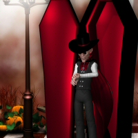 Doctor Pitterbill Dracula 3D Figure Essentials 3DTubeMagic