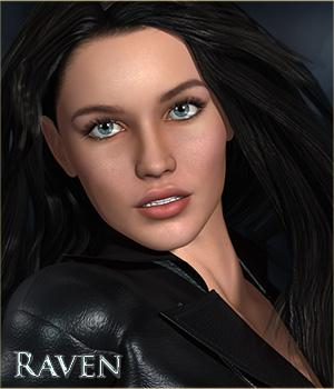 MRL Raven 3D Figure Essentials Mihrelle