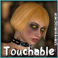 Touchable Q Hair Hair Themed -Wolfie-