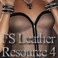 FS Leather Resource 4 Themed 2D And/Or Merchant Resources FrozenStar