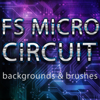 FS MicroCircuit 3D Models 2D Graphics FrozenStar